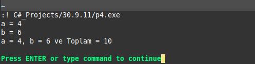 Vim ile c programlama linux monodevelop