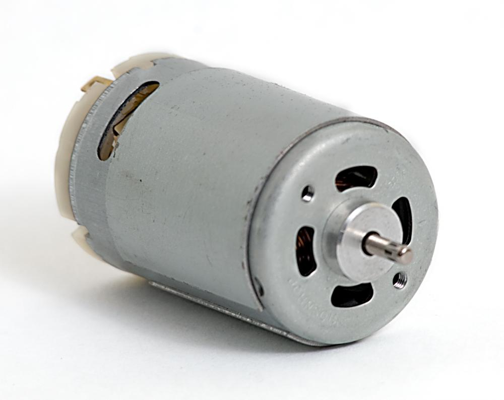 Picture of dc motor