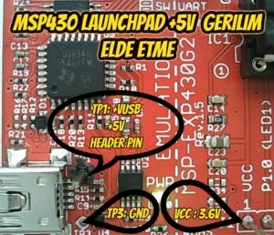 msp430LaunchPad5V2