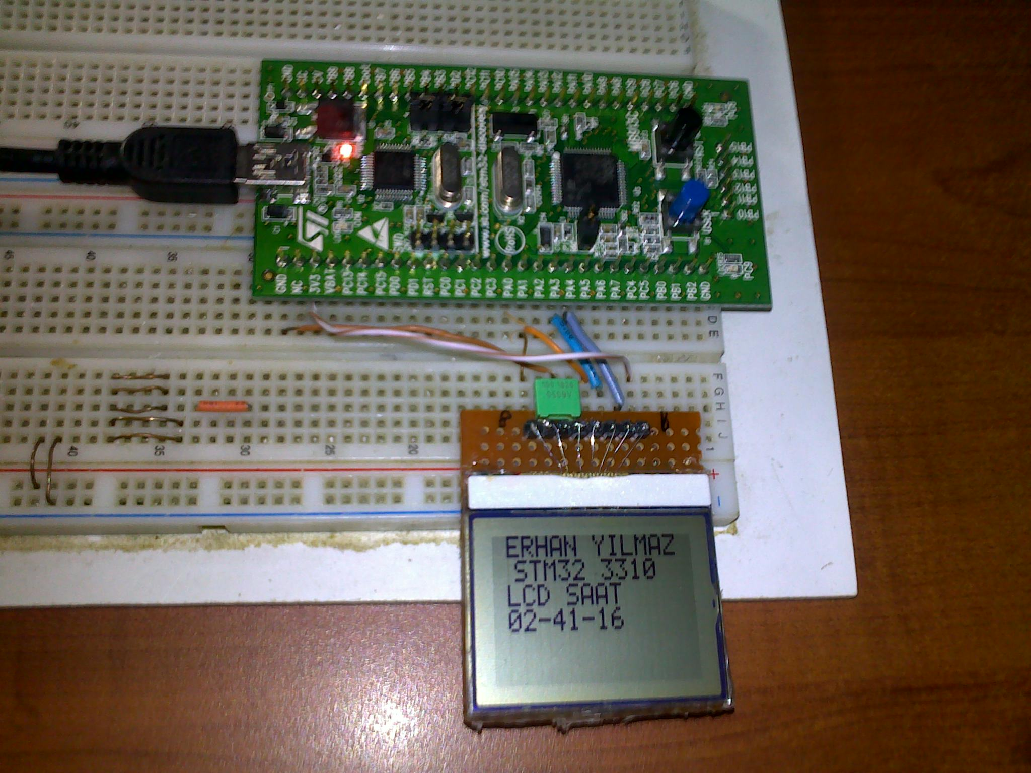 MCU Turkey – STM32 Discovery İlk İzlenimler ve RTC Uygulaması